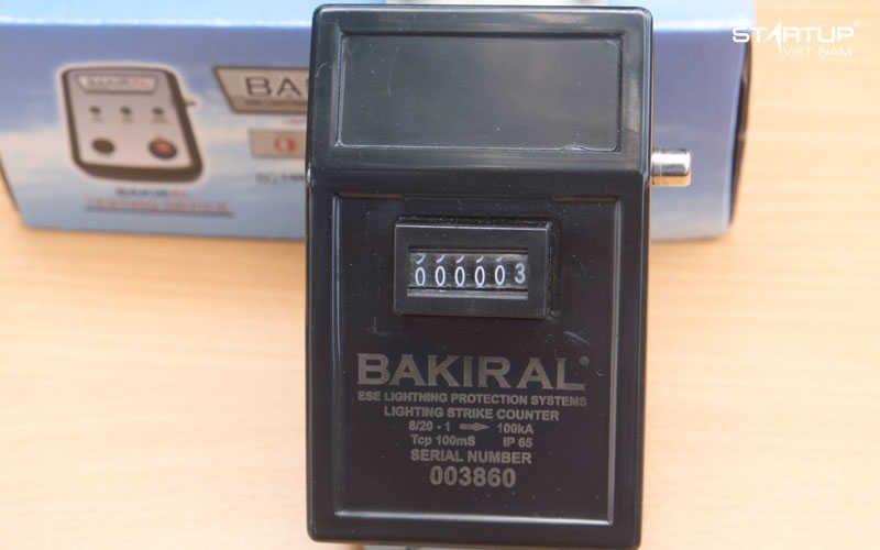 Đồng hồ đếm sét bakiral - Bộ đếm sét bakiral