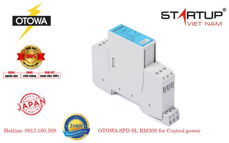 Thiết bị chống sét lan truyền đường điện điều khiển cấp III 24V Otowa SL-RM30S
