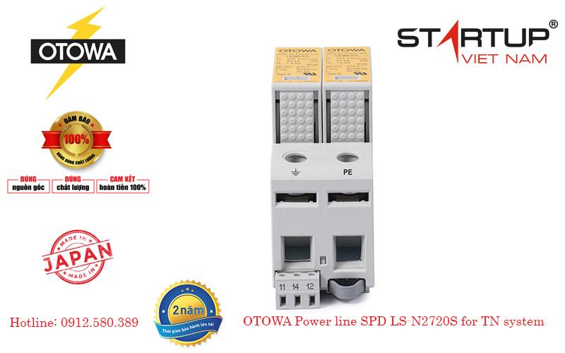 Thiết bị cắt sét lan truyền đường điện 1 pha cấp 2 OTOWA LS-N2720S
