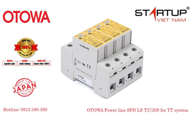 Thiết bị cắt sét lan truyền đường điện 3 pha cấp 2 Otowa LS-T2720S
