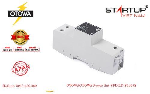 Thiết bị chống sét lan truyền đường điện 3 pha OTOWALD-NP44100S