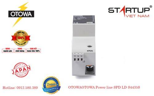 Thiết bị chống sét lan truyền đường điện 3 pha Otowa LD