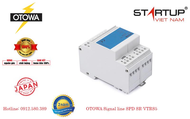 Thiết bị chống sét lan truyền đường tín hiệu 4 đôi dây Otowa SR-VTRS5