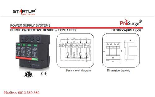 DT50/420-(3V+T)-S-1